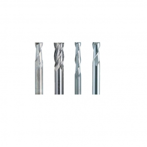End mills for metal