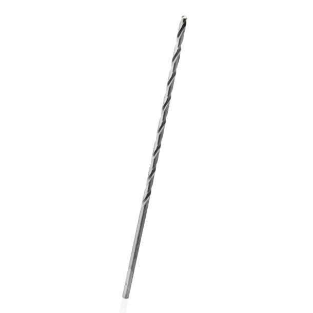 5.0X195 GROUNDED EXTRA LONG HSS DRILL  TOTAL LENGTH 195 MM SPIRAL LENGTH 135 MM ROUND SH